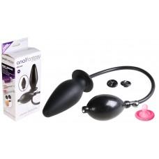 Анальная силиконовая пробка-расширитель Inflatable Silicone Plug