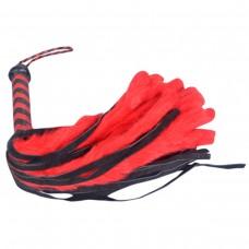 Большая плетка с плетеной рукояткой