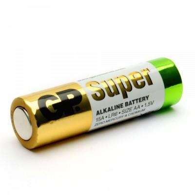 Купить Батарейка алкалиновая GP Super AA в блистере (1 шт) от GP Super