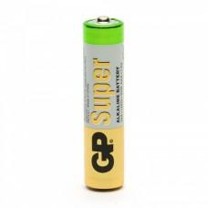 Батарейка алкалиновая GP Super AAA в блистере (1 шт)
