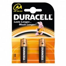 Набор из двух алкалиновых батареек Duracell AA (2 шт)
