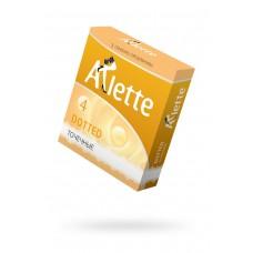 Точечные презервативы Arlette Dotted № 4 (3 шт)