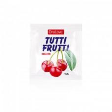 Оральный гель Tutti-Frutti со вкусом сочной вишни (5 шт по 4 г)