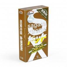 Презервативы усиливающие ощущения SAGAMI Xtreme Feel UP (10 шт)