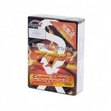 Ультратонкие презервативы со вкусом энергетика Sagami Energy №3 (3 шт.)