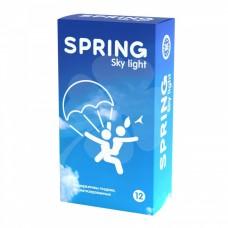 Ультратонкие презервативы SPRING Sky Light с ароматом ванили (12 шт)