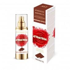 Разогревающее массажное масло MAI ATTRACTION с феромонами и с ароматом шоколада (30 мл)