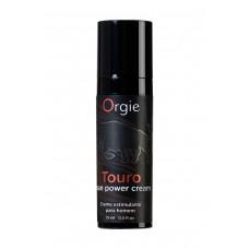 Возбуждающий крем для мужчин ORGIE Touro (15 мл)