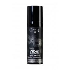 Гель для массажа ORGIE Sexy Vibe High Voltage с усиленным эффектом вибрации (15 мл)