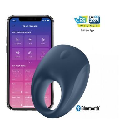 Эрекционное виброкольцо кольцо Satisfyer Strong One (10 режимов, синхронизируется со смартфоном)