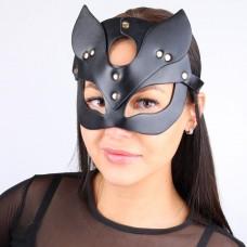 Черная кожаная маска Notabu