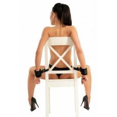 Меховые фиксаторы с креплением к стулу
