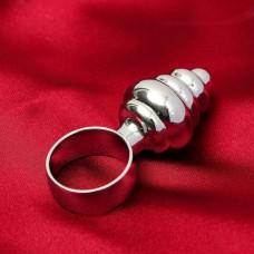 Анальная мини-втулка с кольцом ПЧЁЛКА