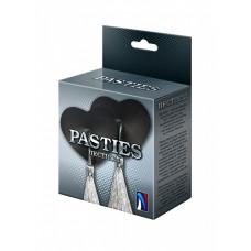 Пестисы-сердечки с серебристыми кисточками