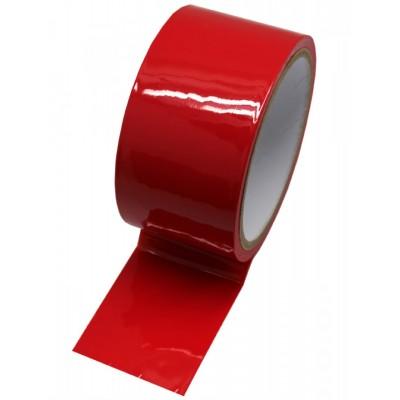Красный скотч для бондажа (16 м) от EROTICON