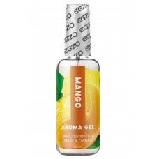 Оральный гель на водной основе EGZO AROMA Mango ароматом манго (50 мл)