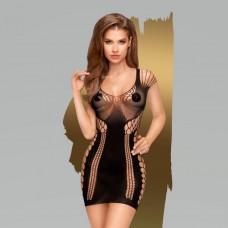 Эластичное бесшовное мини-платье Penthouse Juicy poison XL