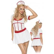 Комплект медсестры с юбочкой XL