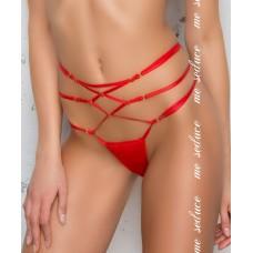 Красные стринги с лентами на талии Rene string SM