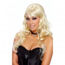 Кудрявый парик блонд LUSCIOUS