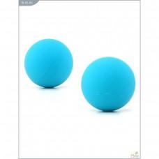 Металлические шарики с гладким голубым силиконовым покрытием MAIA SILICON BALL SB1