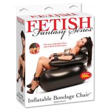 Надувное кресло с фиксацией ног и рук Inflatable Bondage Chair