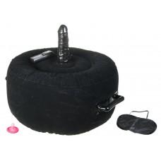 Надувное сиденье с вибратором Inflatable Hot Seat