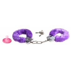 Наручники фиолетовые FURRY FUN CUFFS