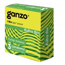 Презервативы GANZO Ultra thin No3 Супер тонкие