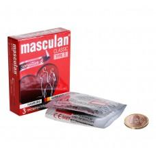 """Презервативы Masculan тип 1 """"НЕЖНЫЕ"""" (3 шт.)"""
