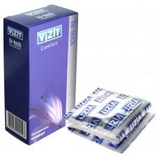 Презервативы VIZIT Hi-tech COMFORT комфорт, 12 шт.