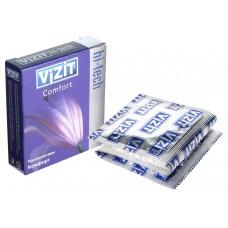Презервативы VIZIT Hi-tech COMFORT комфорт, 3 шт.