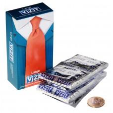 Презервативы VIZIT OVERTURE увеличенного размера, 12 шт.