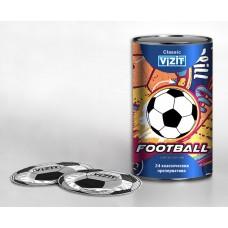 Презервативы классические Classic Vizit Football в дизайнерской упаковке (24 шт.)