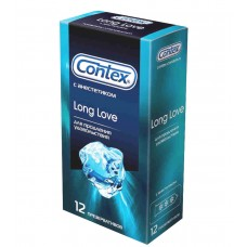Презервативы с анестетиком внутри CONTEX LONG LOVE (12 шт)