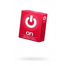 Презервативы супер тонкие ON Super Thin (3 шт)