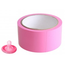 Розовый скотч для связывания Pleasure Tape