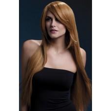 """Рыжий длинный парик """"Amber"""""""