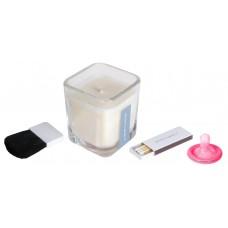 Свеча-массажное масло Pink Lotus