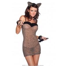 Сексуальная леопардовая кошечка SL