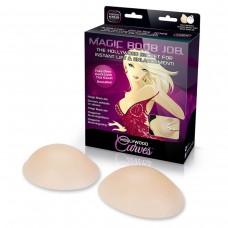Силиконовые вкладки на клейкой основе для коррекции формы груди Magic Boob Job (размер CD)
