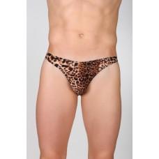 Стринги мужские леопардовые 48