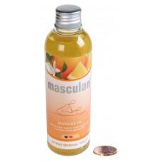 Тонизирующее массажное масло Masculan с цитрусовым ароматом